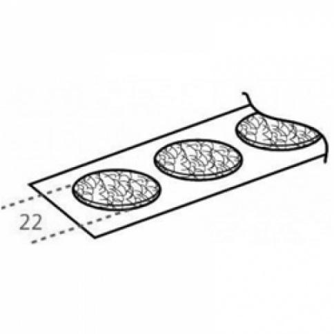 Velcro Loop Coins 22mm