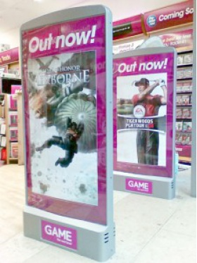 Game Security Pedestal Covers