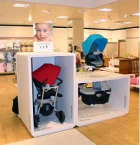 Orbit Baby Retail Display Stands
