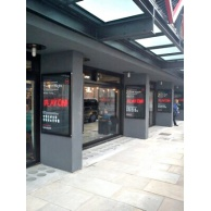 Bespoke External Poster Cases For The Everyman Theatre Liverpool