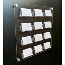 Wall Mounted Business Card Dispenser.
