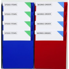 Multi-Stack Job Card Racks