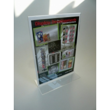 A4 Portrait Double Sided Menu Holder