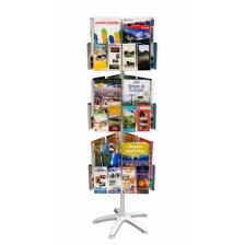 Flexi Floor Standing Brochure Carousels