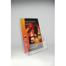 A4 Extra Capacity Leaflet Holder Counter Standing - Portrait