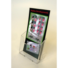 1/3 A4 (DL) Slatwall Leaflet Holder
