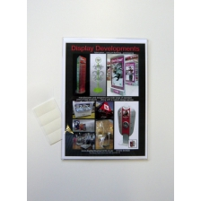 A4  Portrait PVC Wall Mounted Poster Sleeve