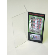 Triple 1/3 A4 Portrait Menu Holder