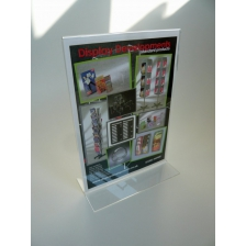 A6 Portrait Double Sided Menu Holder