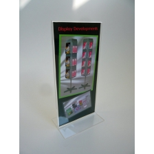 1/3 A4 Portrait Double Sided Menu Holder