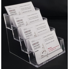 Business Card Holder / Dispenser 4 Compartments