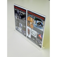A3 Landscape Double Sided Menu Holder