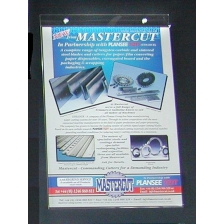 A5 Portrait Wall Mounted Poster Menu Holder
