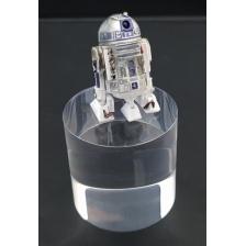 Clear Acrylic Display Cylinder 75mm diameter x 75mm high