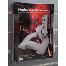 A4 Portrait Slatwall Brochure Holder