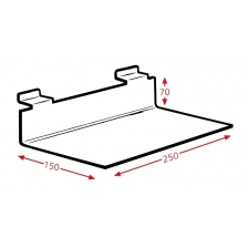 Display Tray Without Lip 250x150mm