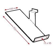 Side Slope Right    250x100mm