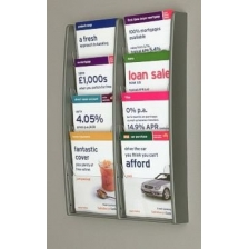 8 x A5 Brochure Holder - MultiMax