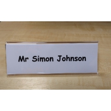 Desk/Table Top Name Holder