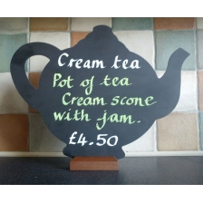 Tea Pot Shaped Chalkboards
