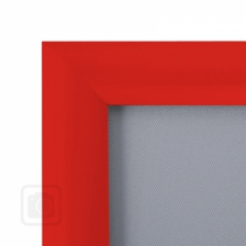 Red Metal Snap Frames