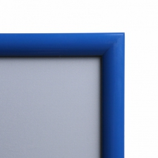 Blue Metal Snap Frames