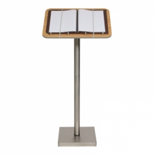 Indoor Restaurant Menu Display Stand