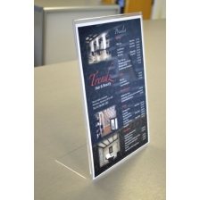 A4 Portrait Slanted Leaflet Holder