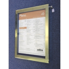 Special Offer LED Illuminated A2 Menu Display Cases