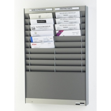 Klarity Document Control Panel - Silver Grey