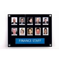 Staff Photo Display Boards