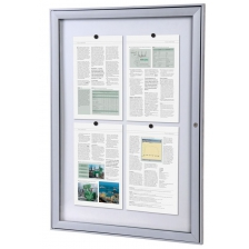 Trim Model S Lockable Noticeboards