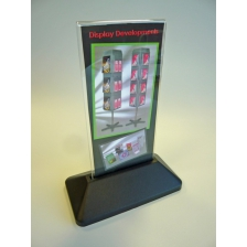 1/3 A4 Portrait Slanted or Vertical Menu Holder