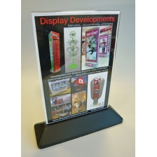A4 Portrait Slanted or Vertical Menu Holder