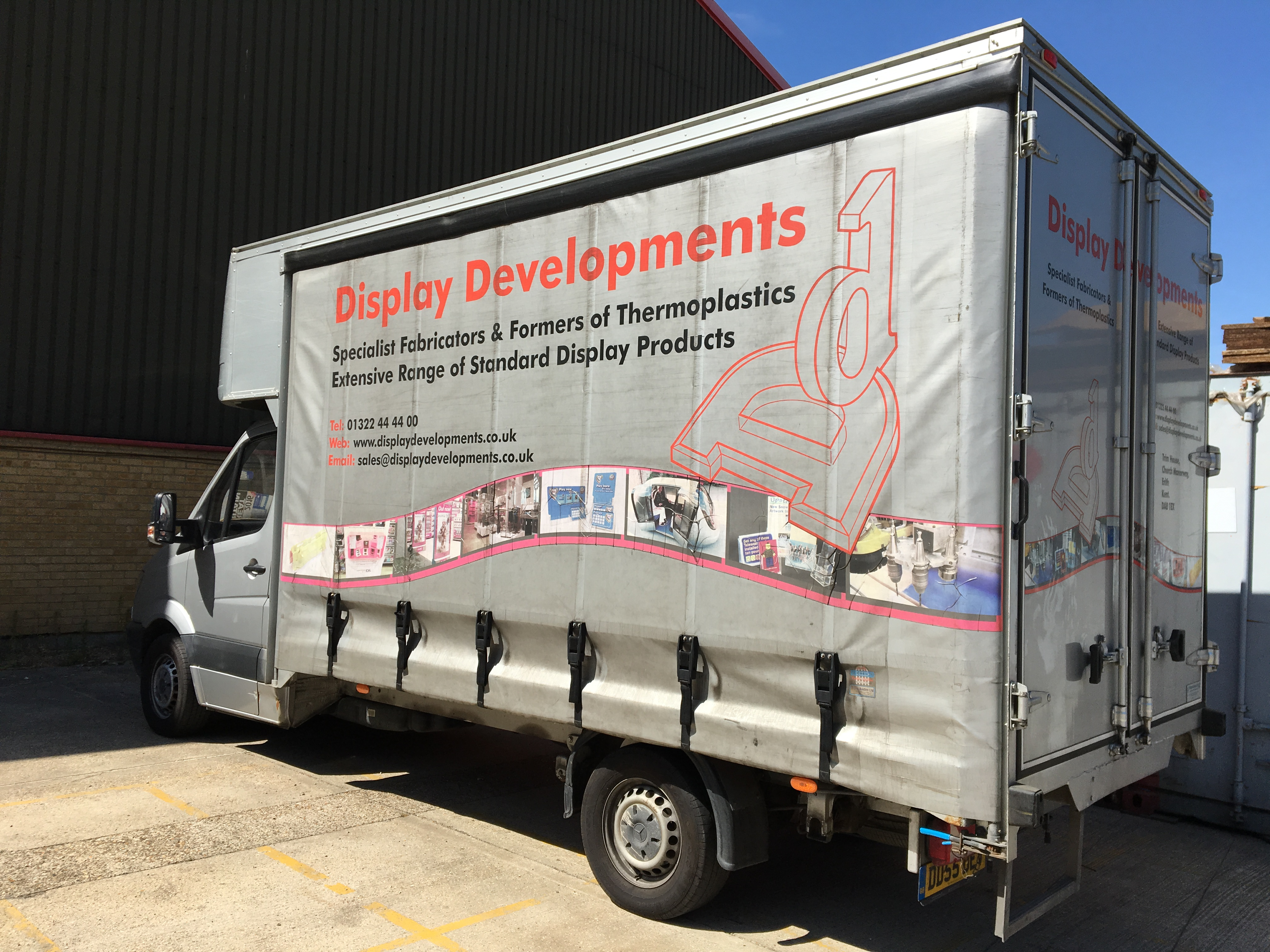 Perspex Fabrication Van