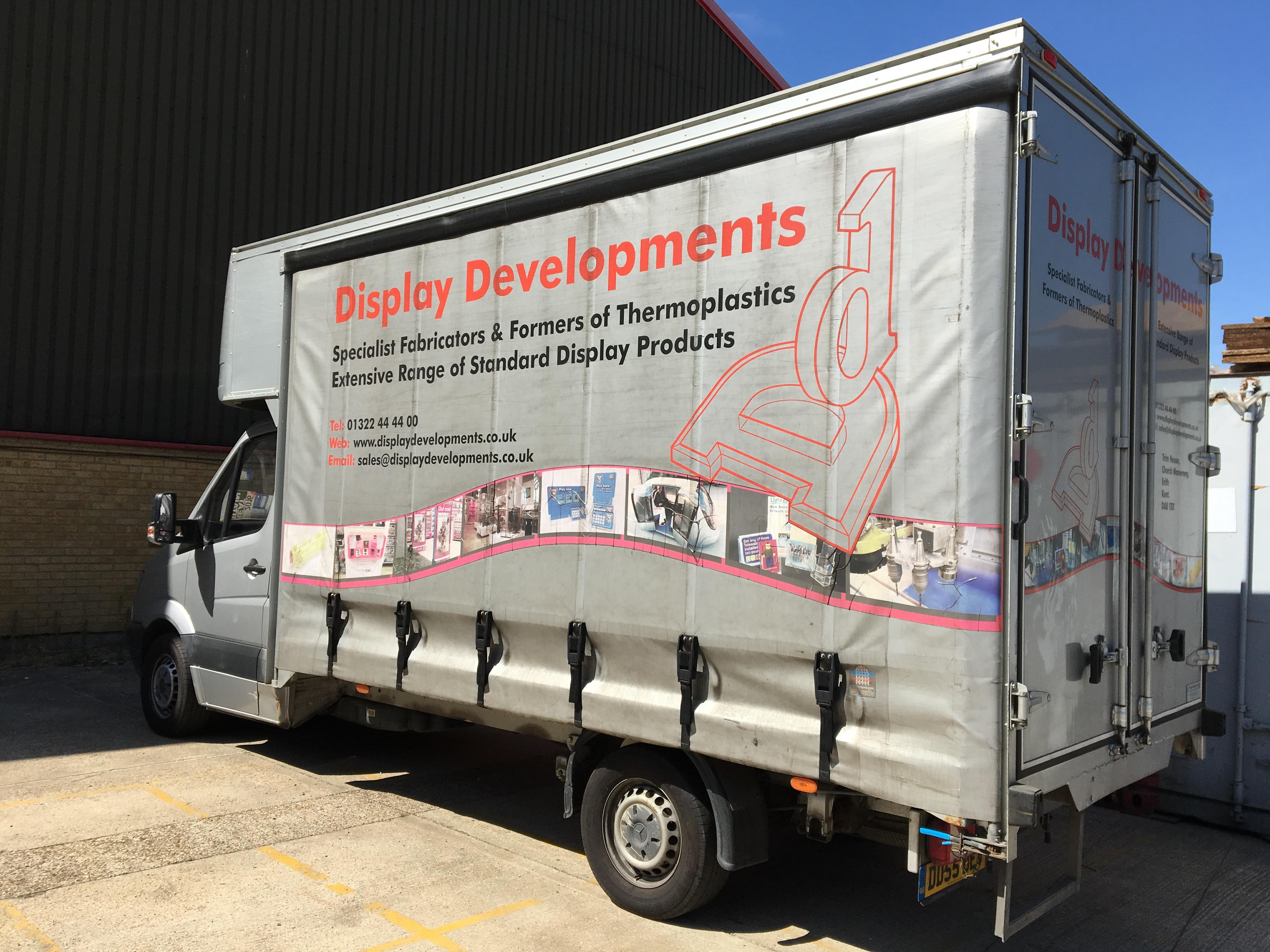 Perspex Fabrication Van