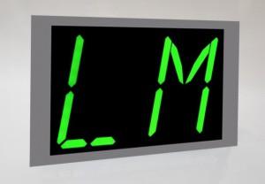 LCD lift display
