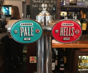 Camden Pale Ale Pumps